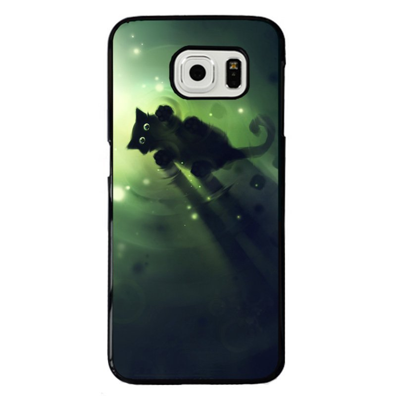 Swimming Cat Printed Phone Case for Samsung Galaxy Mega 6.3 (Multicolor)