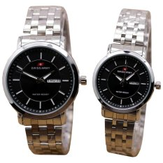 Swiss Army Couple Watch - Silver - Stainless - Swiss Army SA 5094 SS