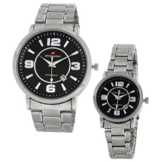 Swiss Army Couple Watch - Silver - Stainless - Swiss Army SA TA1029L COUPLE