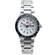 Swiss Army SA556-TH Jam Tangan Wanita Stainless Steel Putih Silver