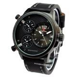 Swiss Army - SA6716M - Jam Tangan Pria - Kulit - Hitam List Putih