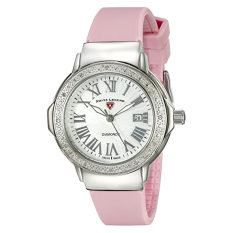 Swiss Legend Women's 20032DSM-02-PKS South Beach Analog Display Swiss Quartz Pink Watch (Intl)