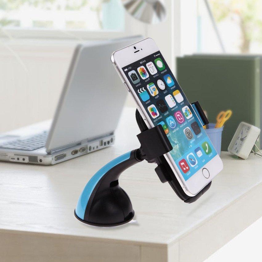 Sworld VCS-0039 Big Bend Phone Holder Clip (Blue) (Intl)