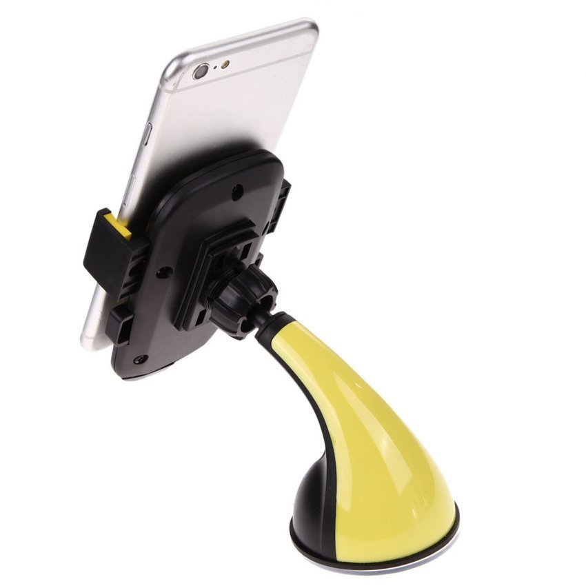 Sworld VCS-0039 Big Bend Phone Holder Clip (Yellow) (Intl)