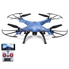 Syma Drone X5HW + WIFI FPV Kamera HD 2 MP + Altitude Hold - Biru