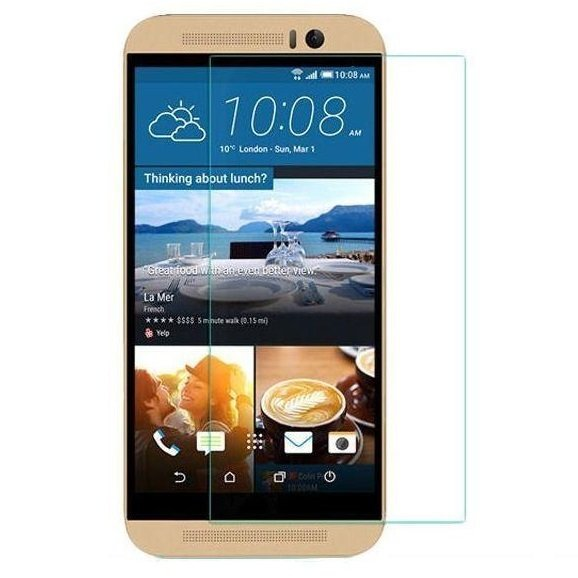 Taff 2.5D Tempered Glass Curve Edge Protection Screen 0.26mm for HTC One m9 Plus - Asahi Japan Material Glass