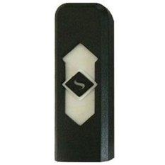 Taff Korek Elektrik USB Rechargeable Lighter - Hitam