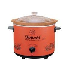 Takahi 3102AH Slow Cooker - Oranye
