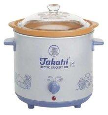 Takahi Slow Cooker Alat Untuk Memasak Makanan Bayi - 1.2L - Putih