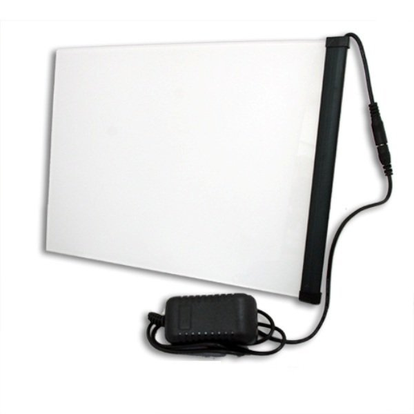 Tattoo Light Box Tattoo Supply Ultra Thin Tracing Table Pad A4 LED Stencil Board (White) (intl)