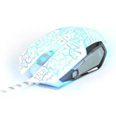 Technology Gaming Mouse Lol Mouse Purgatory Mad Snake 2nd Generation Cf Gaming Mouse Wired Luminous(White)