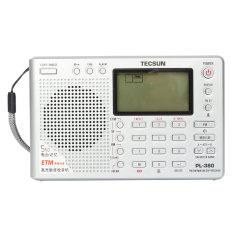TECSUN PL-380 DSP PLL FM MW SW LW Digital Stereo Radio World Band Receiver New Silver