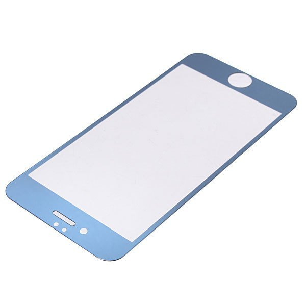 Tempered Glass Guard Film Screen Protector for iPhone 6 (Blue) (Intl)