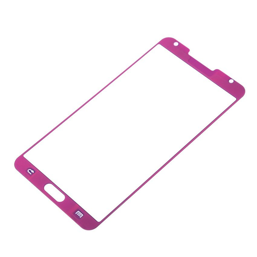 Tempered Glass Protection Screen Protector Case for Samsung Galaxy Note3 (Purple) (Intl)
