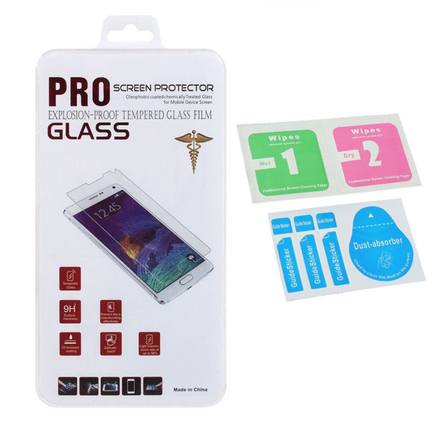 Tempered Glass Screen Protector Film for Samsung Galaxy Grand Prime G5308 (Clear) (Intl)