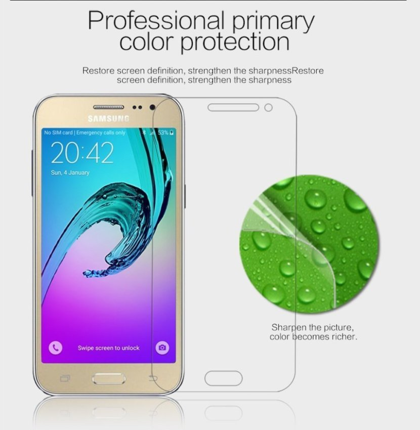 Tempered Glass Screen Protector for Samsung Galaxy J2 (Intl)