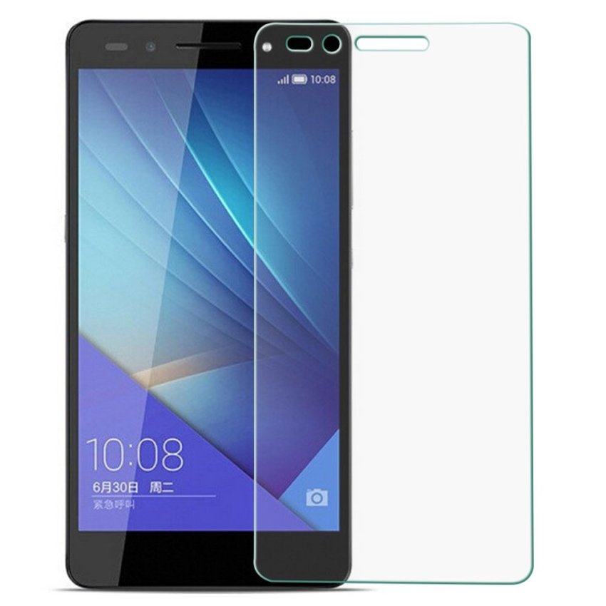 Tempered Glass Screen Protector Guard for Huawei Honor 7 (Clear) (Intl)