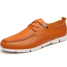 "The New Men""s Casual Shoes Cool And Comfortable Men""s Shoes (Brown) ' - Intl"