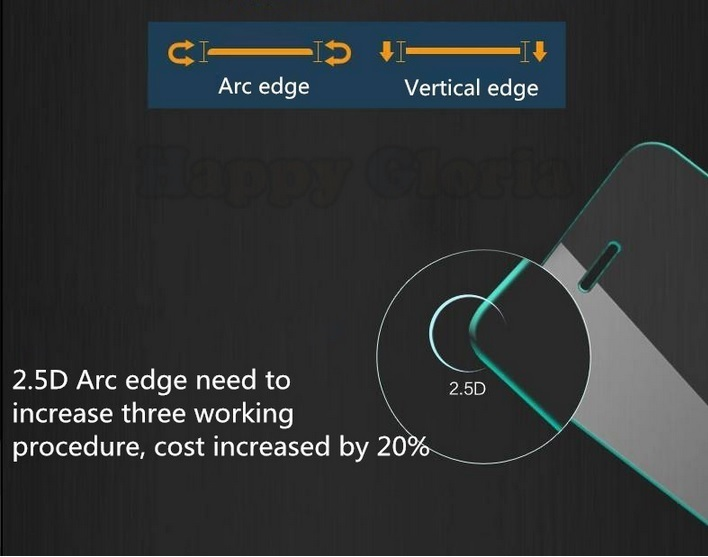 Titan Glass For Nokia XL - Premium Tempered Glass - Rounded Edge 2.5D