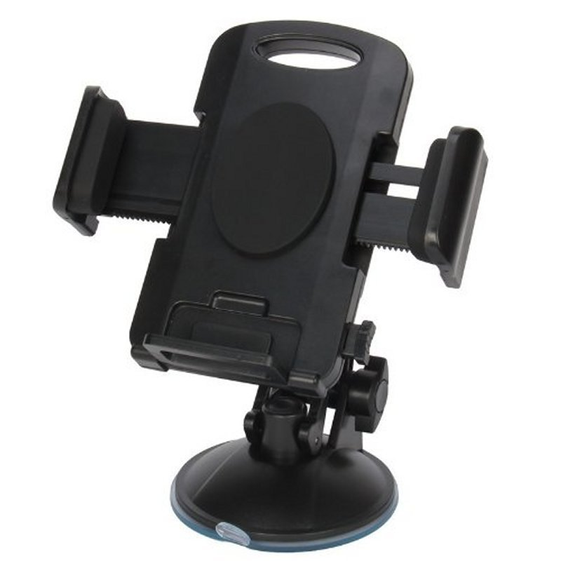 Titanium Smartphone Car Holder - Hitam