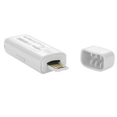 TK-STAR GPS Tracker Mini USB Charging Car Kids Elder With Anti-theft / GEO Fence / Voice Monitor (White) - Intl
