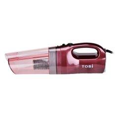 Tobi EZ Hoover Cyclone Vacuum Cleaner - Merah