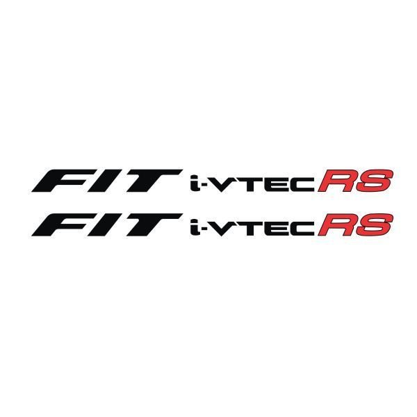 Tokomonster Sticker Fit i-vtec RS Sticker RS Samping Mobil