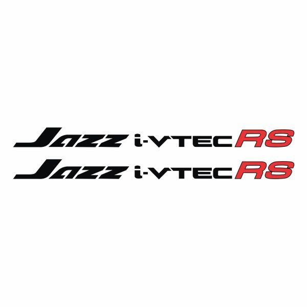 Tokomonster Sticker Jazz i-vtec RS Sticker RS Samping Mobil