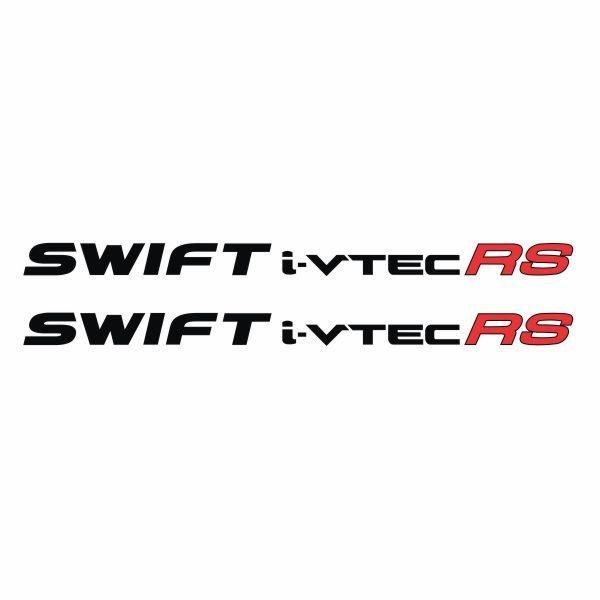 Tokomonster Sticker Swift i-vtec RS Sticker RS Samping Mobil