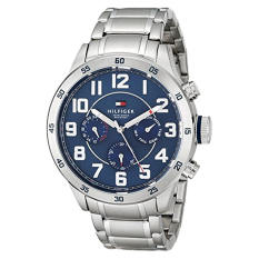 Tommy Hilfiger Men's 1791053 Stainless Steel Watch With Link Bracelet - Intl