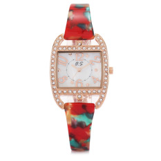 Toobony Genuine YAQIN Yaqin Watch Female Models 7203 Women's Fashion Watch Fashion Bracelet Watch Girls (Pink)