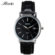Top Brand ROOD Womens Watches Luxury Watch Fashion Casual Watch Leather Quartz-Watch Female Clock Relojes Mujer Montre Femme