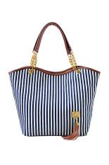 Toprank Women Handbag Women Shoulder Bag Chains Canvas Designer Tassel Women Messenger Bag Fashion Women Tote Bolsas
