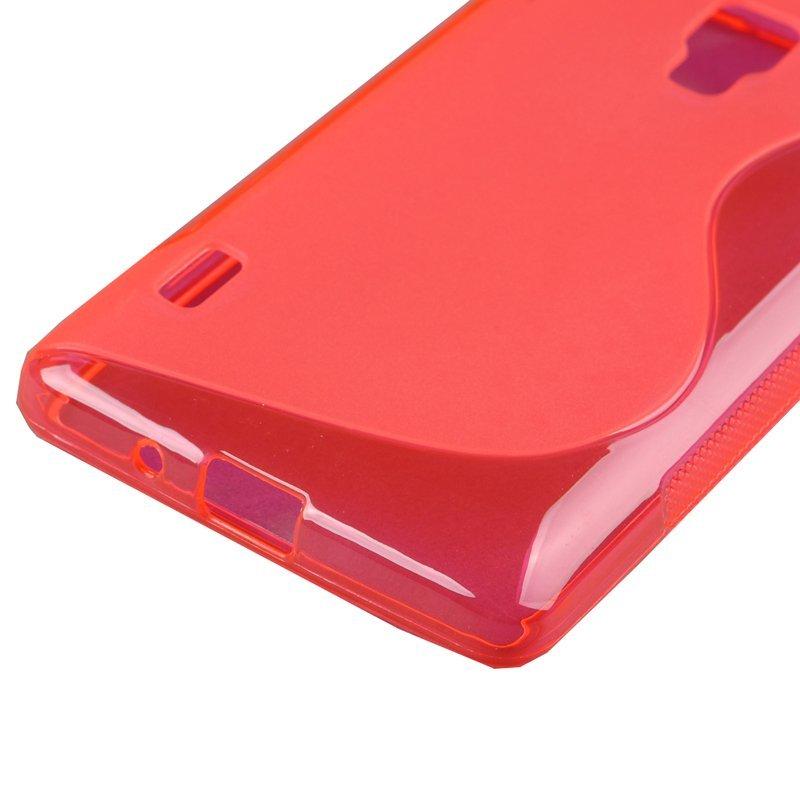 TPU Case for LG Optimus L7 II P710 (Red) (Intl)