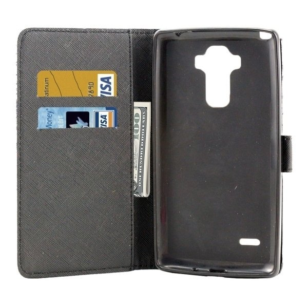 TPU PU Flip Leather Cross Texture Horizontal Cover with Card Slots Wallet Holder for LG Stylus LS770 (Multicolor) (Intl)
