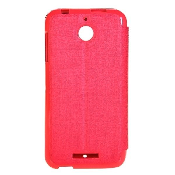 TPU PU Flip Leather Horizontal Cover with Card Slots Wallet Holder for HTC Desire 510 (Magenta) (Intl)