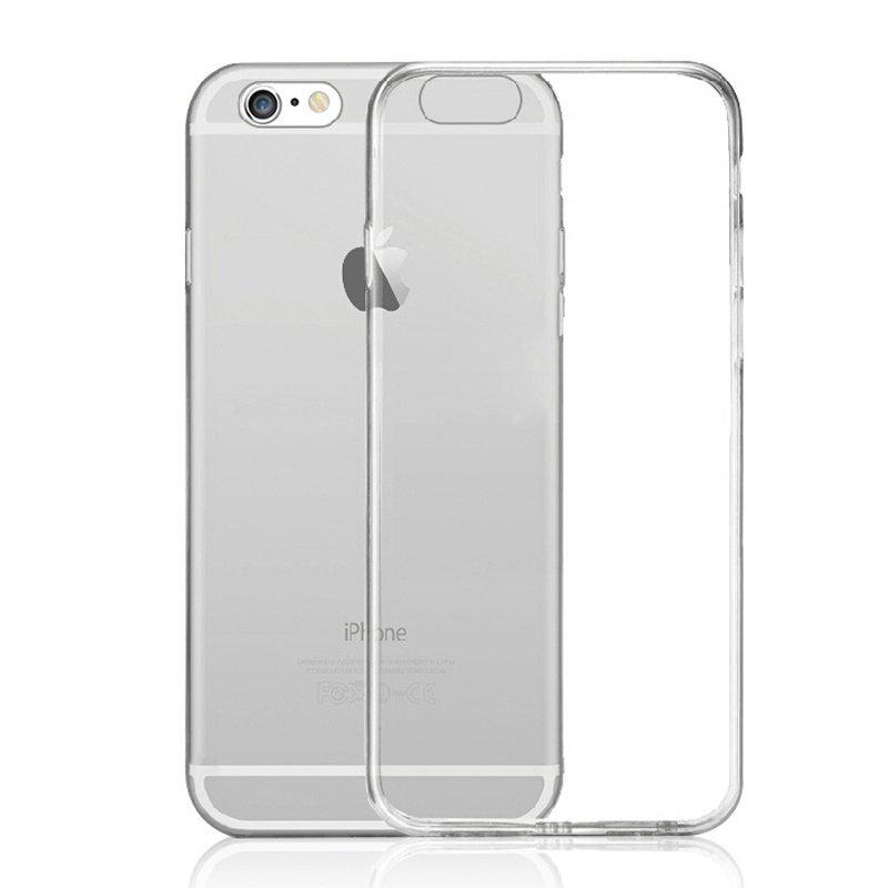 TPU Transparent Case for iPhone 6 plus /6S plus Grey (Intl)