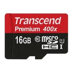Transcend Micro SDHC 16GB - Class10