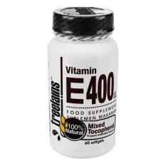 Treelains Vitamin E Natural Mixed Tocopherols - 400 IU - 60 Softgel