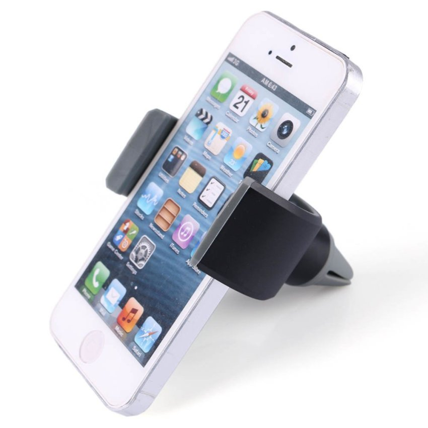 U-Shaped Car Air Conditioning Vent Phone Holder (Intl)