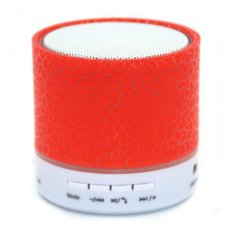Ubit A9 LED MINI Bluetooth Speaker TF USB Wireless Portable Music Sound Box (Red) - Intl