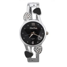UINN Women Diamond Plated Special Korean Style Round Shape Full Steel Wrist Watch