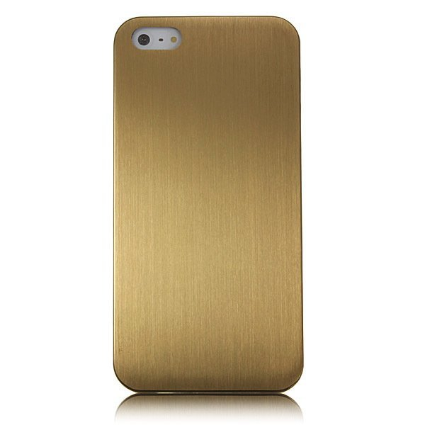 Ultra Thin Alloy Titanium Metal Hard Back Case for Apple iPhone 5/5s (Golden) (Intl)