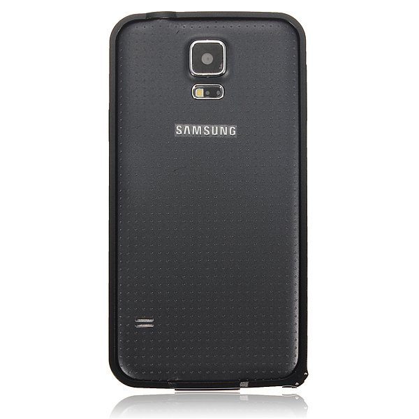 Ultra Thin Aluminum Metal Bumper Frame Case for Samsung Galaxy S5 i9600 G900 (Black) (Intl)