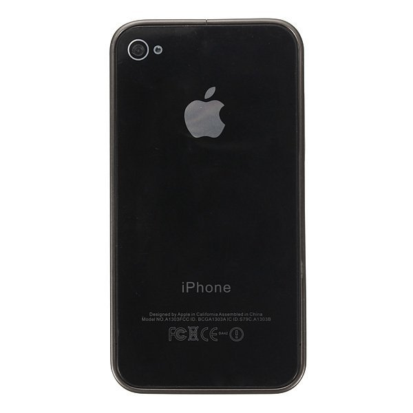 Ultra-thin Metal Aluminum Frame Bumper Hard Case for iPhone 4/4S/5/5S (Grey) (Intl)