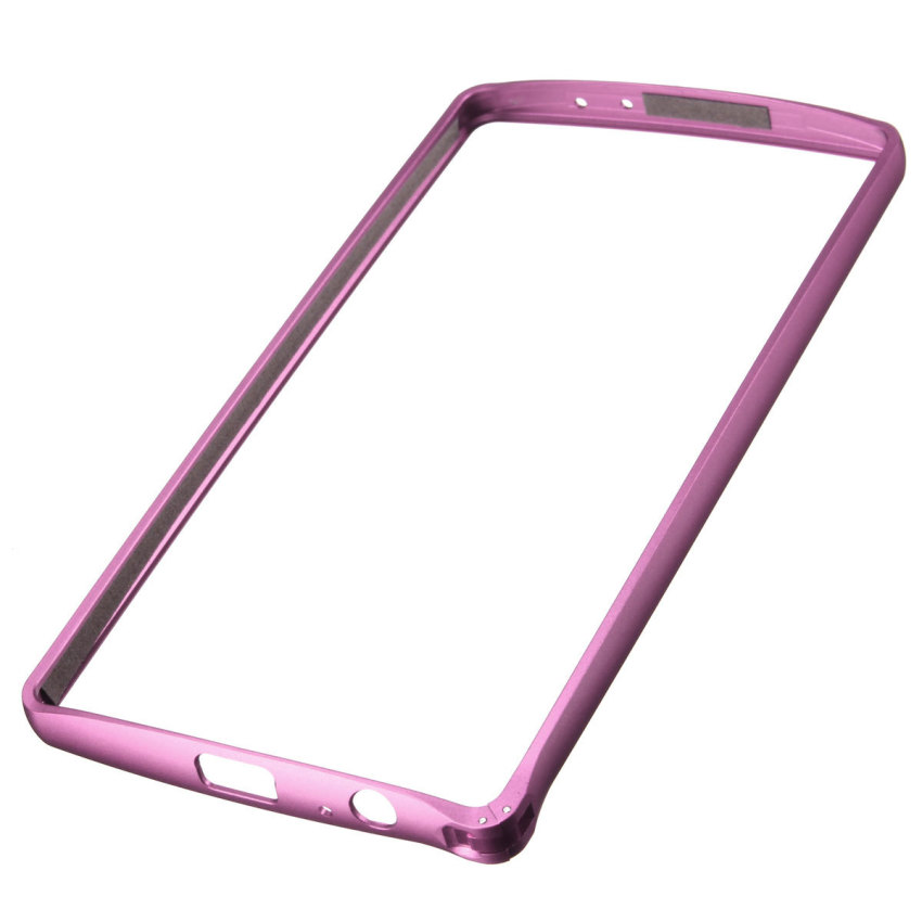 Ultra Thin Novel Luxury Aluminum Metal Frame Bumper Case for LG G4 (Pink) (Intl)