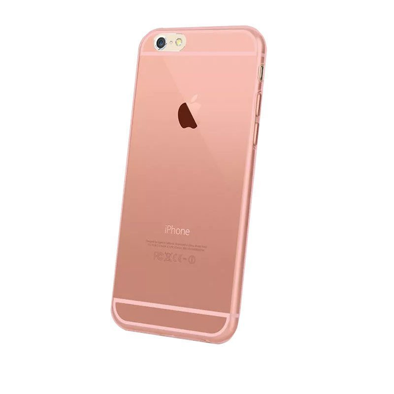 Ultra Thin TPU Case for iPhone 6 - Pink