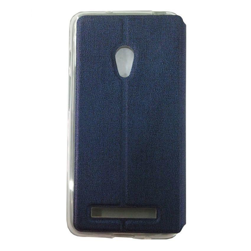 Ume Flip Cover for Asus Zenfone 5 Lite - Biru Tua