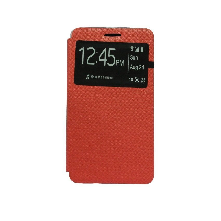 Ume Flip Cover For Lenovo A7000 - Merah