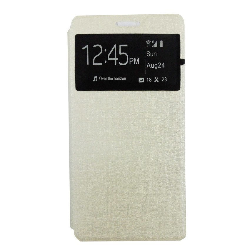 Ume Flip Cover For Lenovo A7000 - Putih